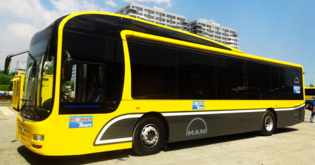 Kinh nghiệm du lịch Manila - Bus Philippines