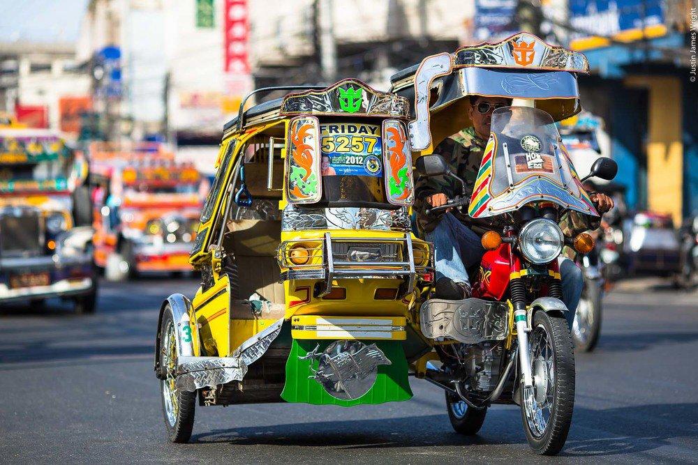 Kinh nghiệm du lịch Manila - Tricycle