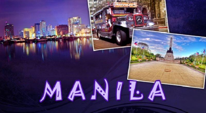 Manila Philippines – Có một Manila đầy mê hoặc
