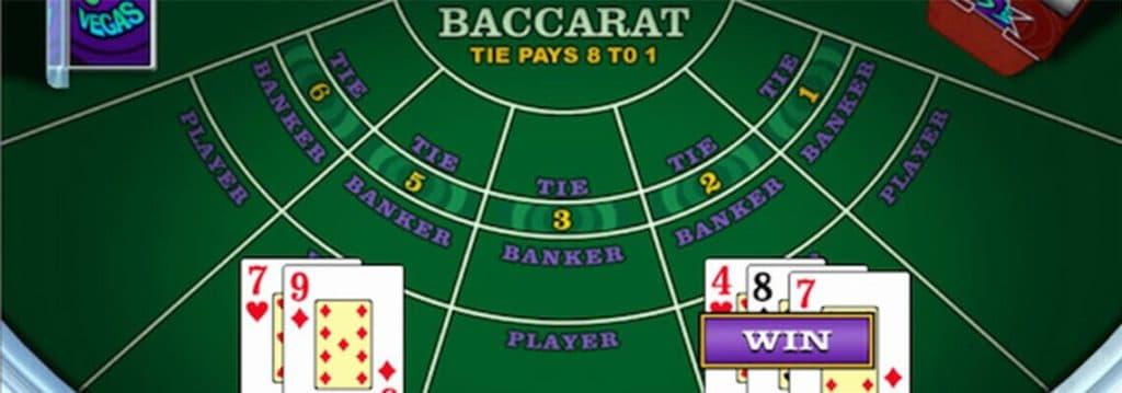 Bàn chơi Baccarat