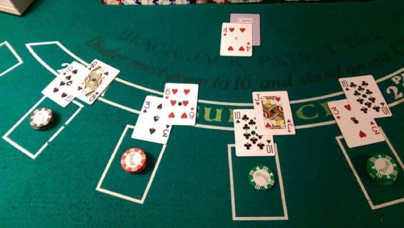 Bàn chơi Blackjack