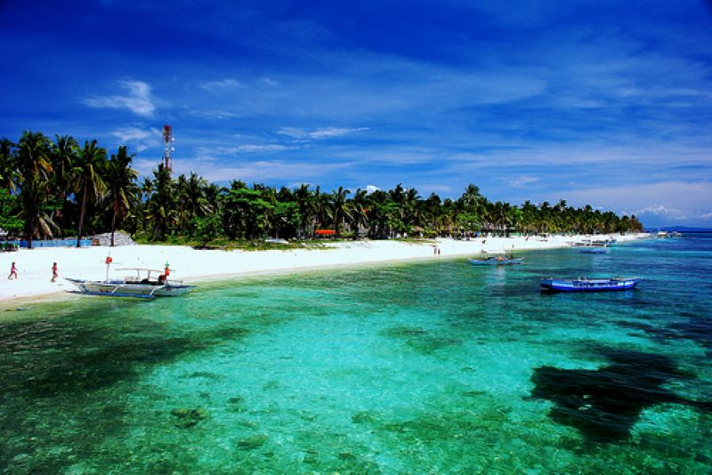 Đảo Malapascua với làn nước trong xanh tuyệt  đẹp
