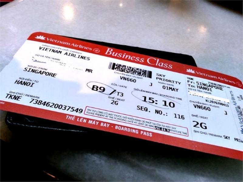 Kiểm tra thông tin vé bay
