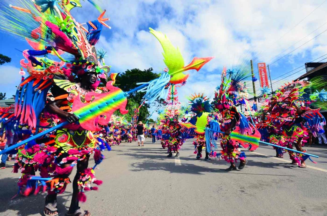 Lễ hội Ati-Atihan ở Philippines