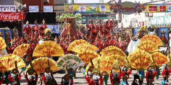 Lễ hội Dinagyang ở Iloilo, Philippines