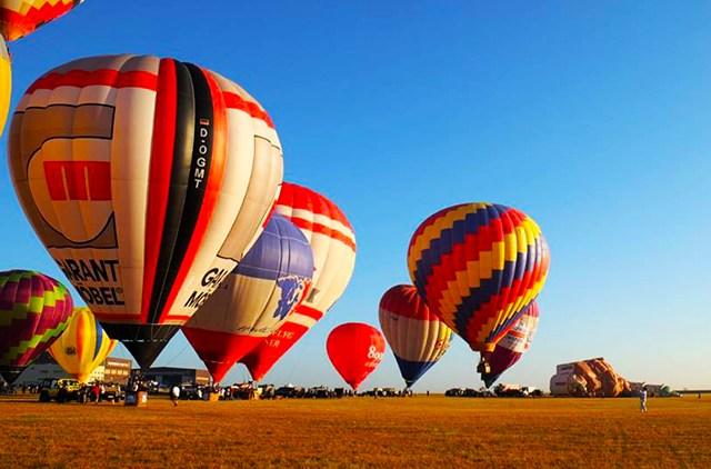 Lễ hội khinh khí cầu tại Philippines