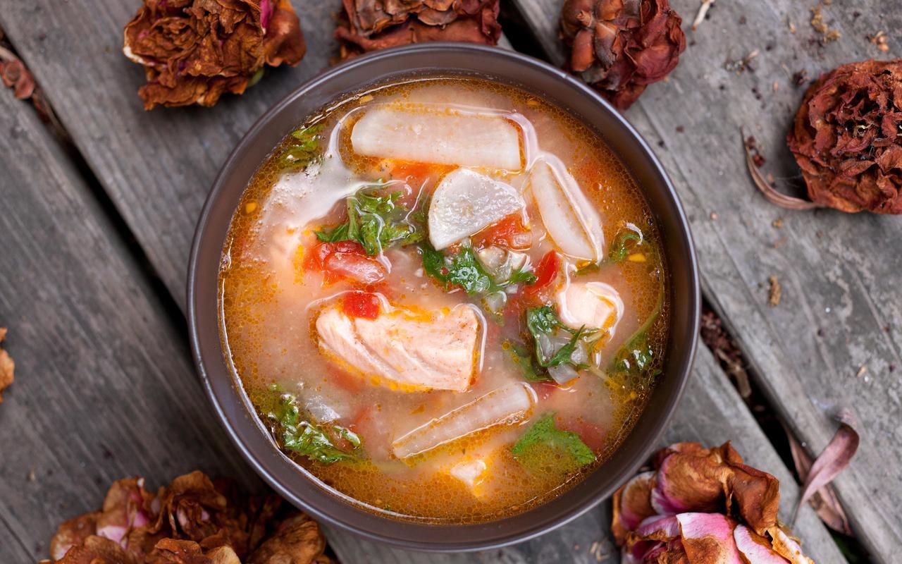 Sinigang Soup