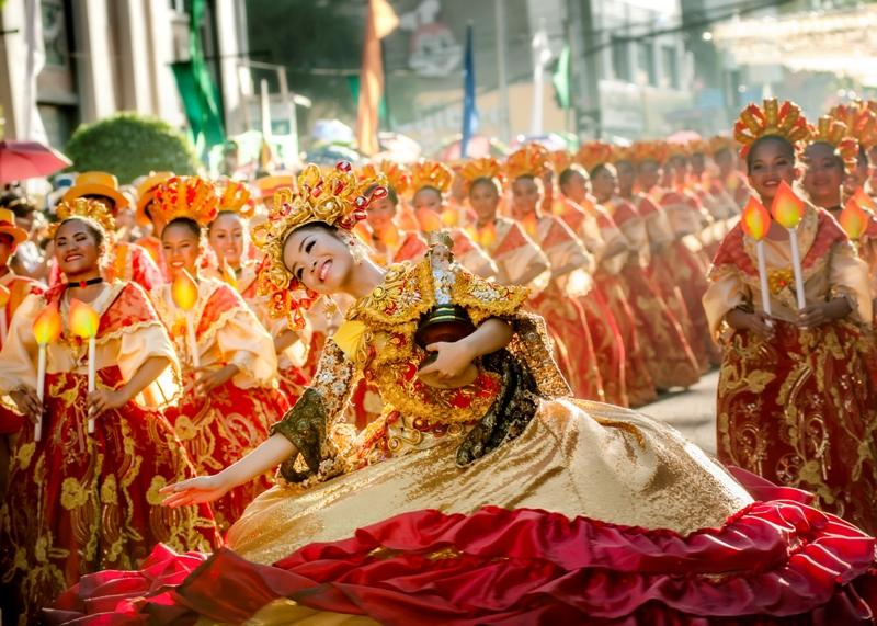 Lễ hội vinh danh sự kỳ diệu của Santo Nino - Chúa Giêsu