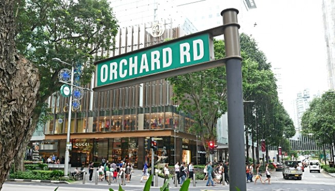 Thiên đường mua sắm bậc nhất ở Singapore - Orchard