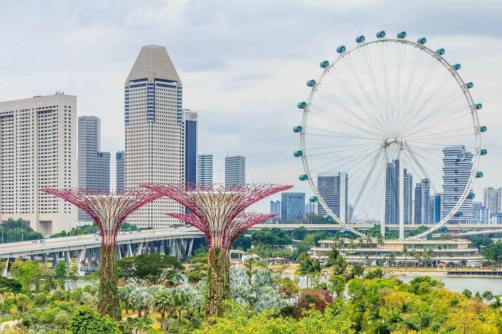 Vòng đu quay khổng lồ Singapore Flyer