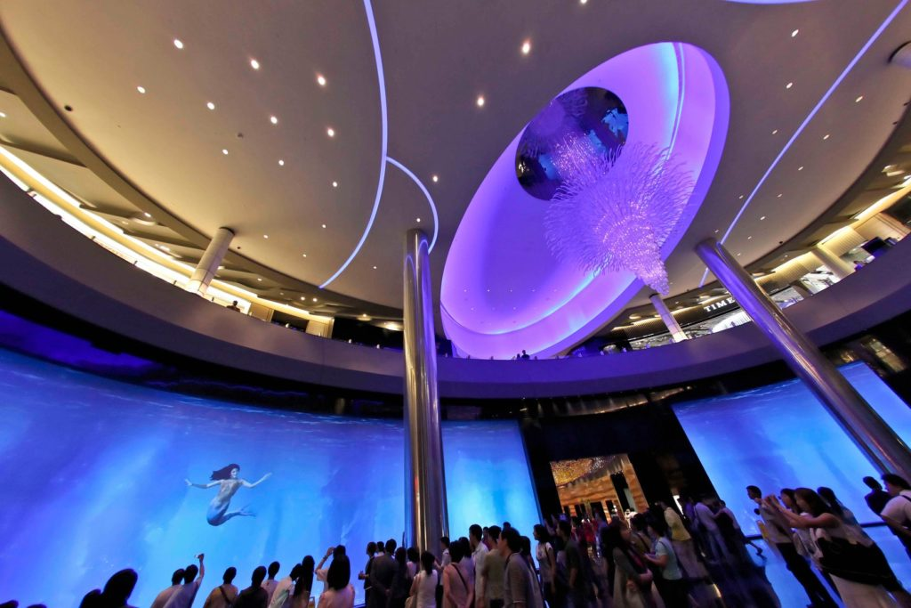 Virtual Aquarium - City Of Dreams Macau