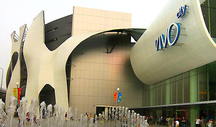 Trung tâm mua sắm Singapore Vivo City
