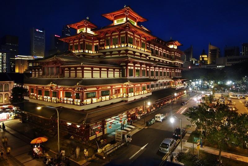Nơi sinh sống của đông đảo cộng đồng người Hoa tại Singapore
