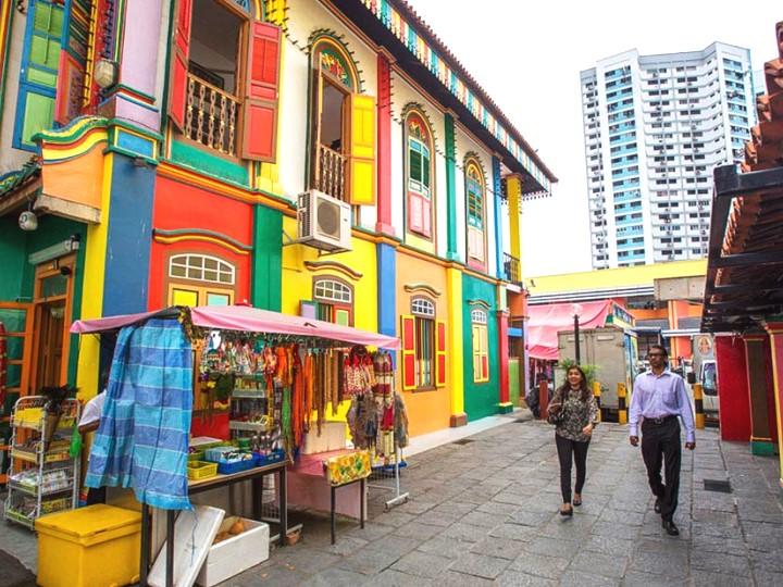 """Đường Seragoon """"trái tim"""" của Ấn Độ giữa lòng Singapore"""