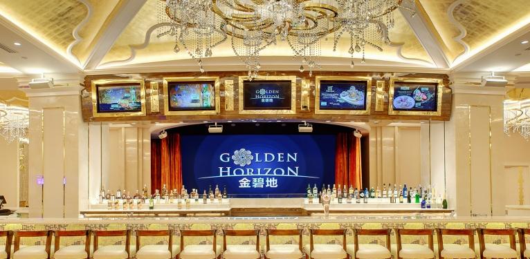 GOLDEN HORIZON - Hương vị cocktail hay vài ly champagne được pha bởi nhà pha chế tài ba