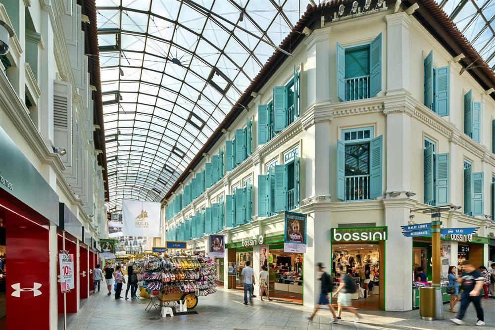 Trung tâm mua sắm Singapore Bugis Junction