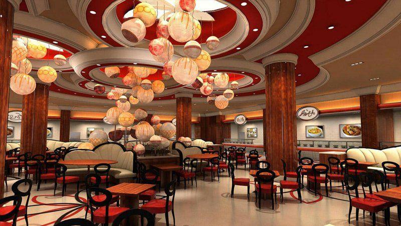 Nhà hàng tại Solaire Manila
