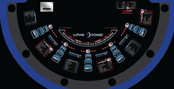 Bàn chơi Lunar Poker