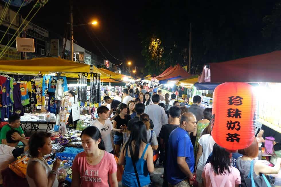 Chợ đêm Pasar Malam
