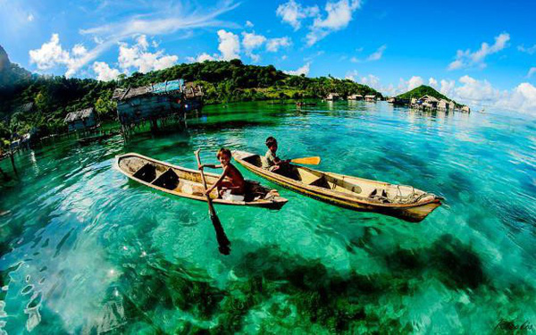 Hòn đảo nhỏ Mabul