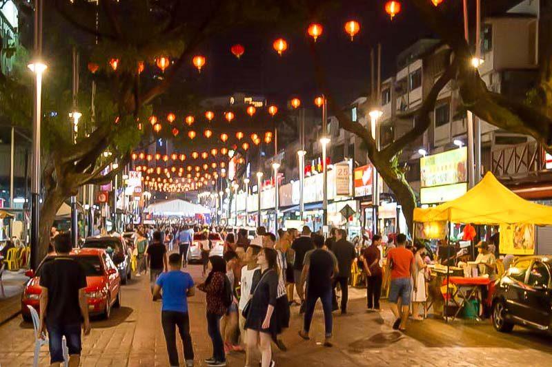 Chợ đêm Jalan Alor