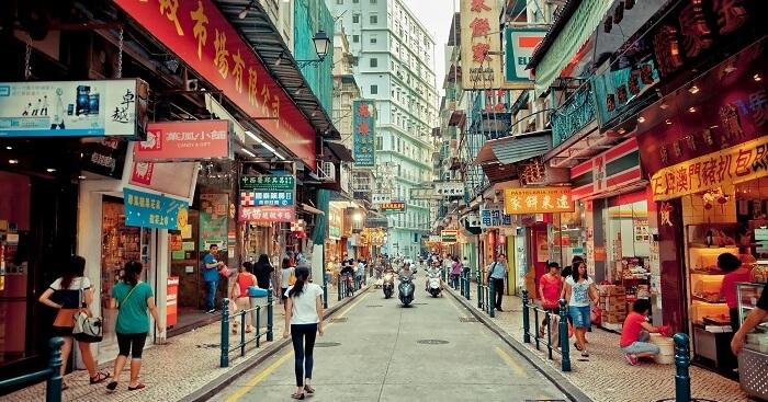 Món ăn đường phố Macau