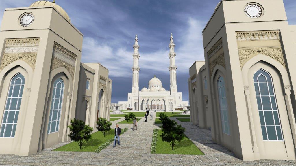 Nhà thờ Masjid Sri Sendayan Mosque