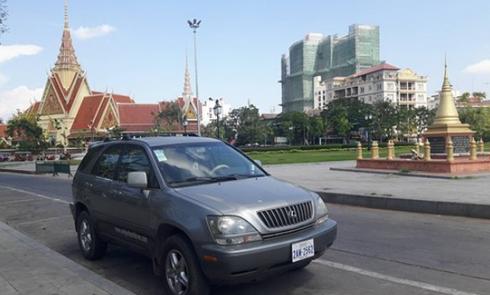 Kinh nghiệm du lịch Campuchia: Taxi