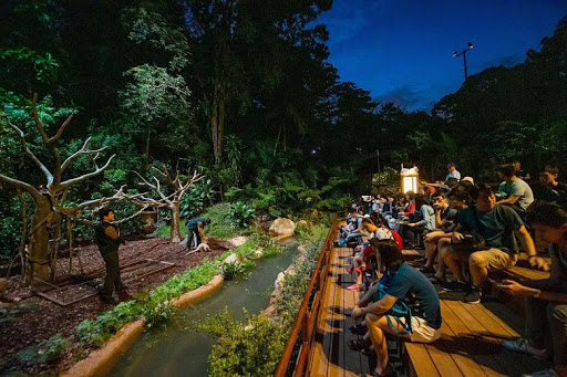 Vườn thú hoạt động về đêm Night Safari