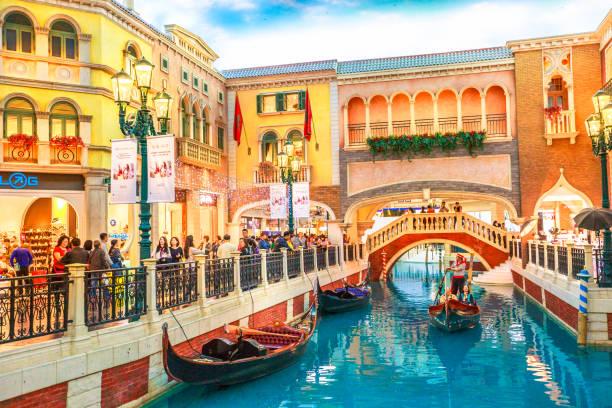 Sòng bạc Vanetian Macau: Kênh nhân tạo tuyệt đẹp