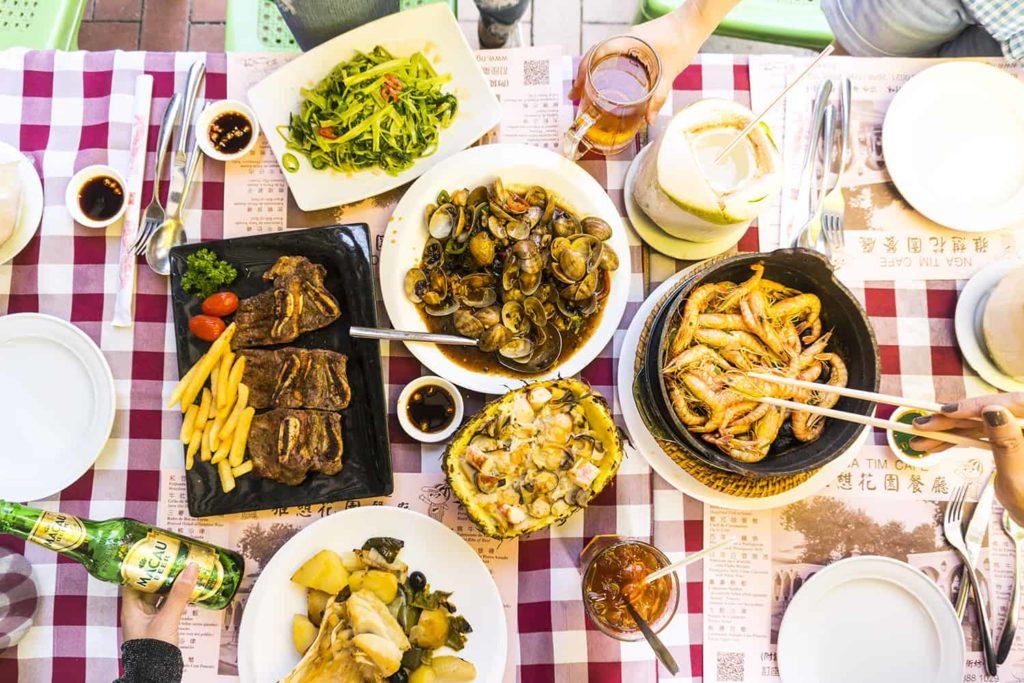 Ẩm thực Macau