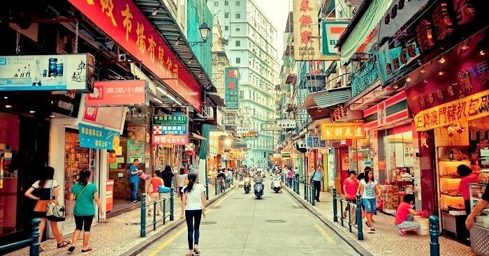 Tham quan và mua sắm tại Macau