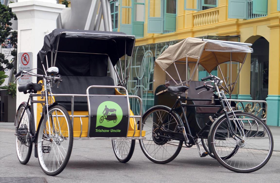 Kinh nghiệm du lịch Macau: Xe Trishaw